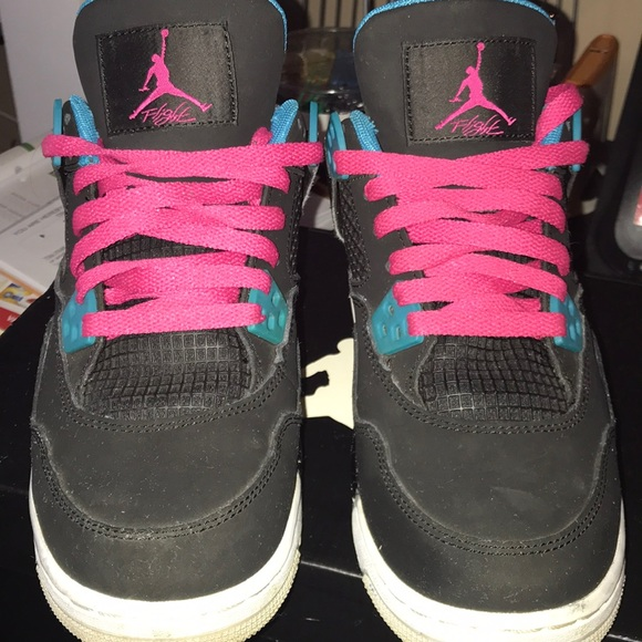b1d44177fd9 Jordan Shoes | Air Iv Retro Gs South Beach | Poshmark
